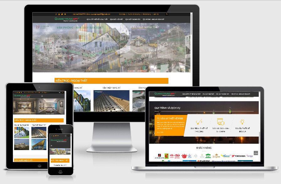 Quangtrungapt – Website nội thất quảng cáo